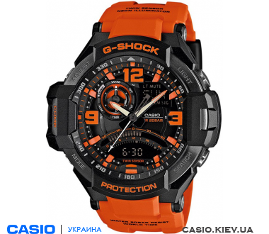 GA-1000-4AER, Casio G-Shock