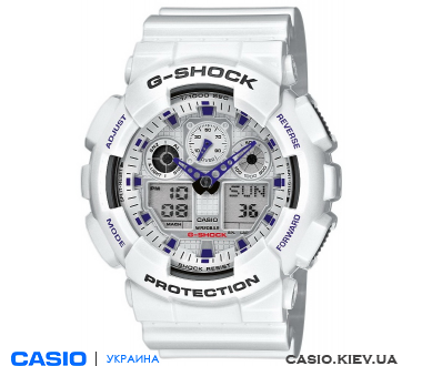 GA-100A-7AER, Casio G-Shock