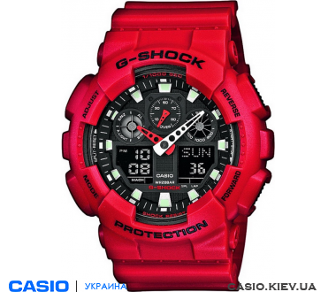 GA-100B-4AER, Casio G-Shock