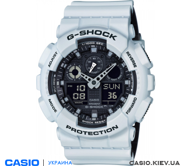 GA-100L-7AER, Casio G-Shock