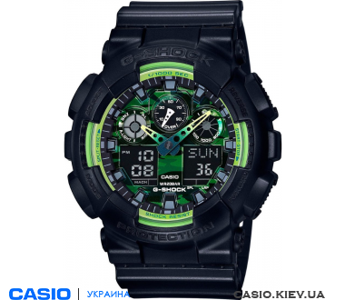 GA-100LY-1AER, Casio G-Shock