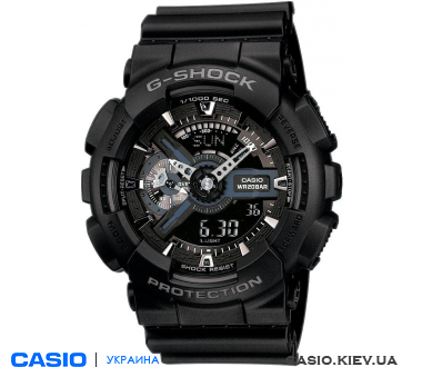 GA-110-1BER, Casio G-Shock