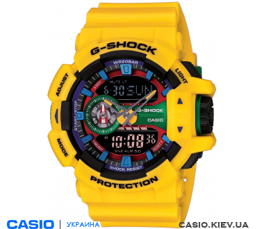 GA-400-9AER, Casio G-Shock