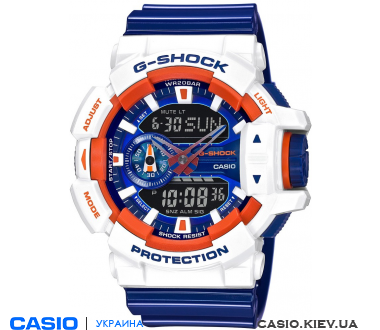 GA-400CS-7AER, Casio G-Shock