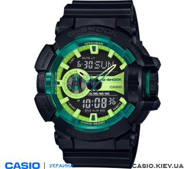 GA-400LY-1AER, Casio G-Shock