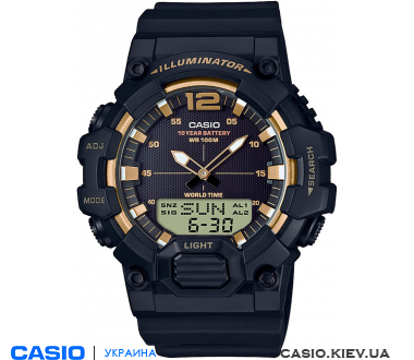 HDC-700-9AVEF, Casio Combination