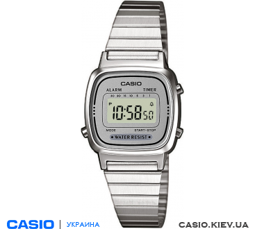 LA670WEA-7EF, Casio Standard Digital