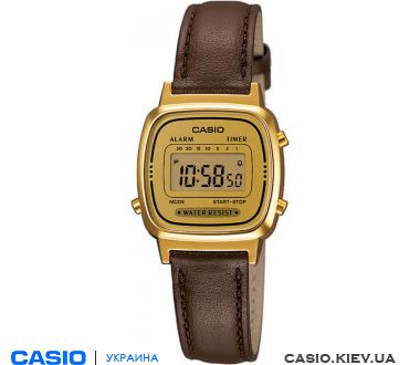 LA670WEGL-9EF, Casio Standard Digital