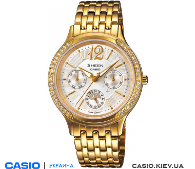 SHE-3030GD-7AUER, Casio Sheen