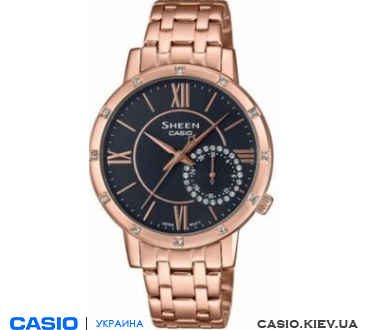 SHE-3046PG-8AUER, Casio Sheen