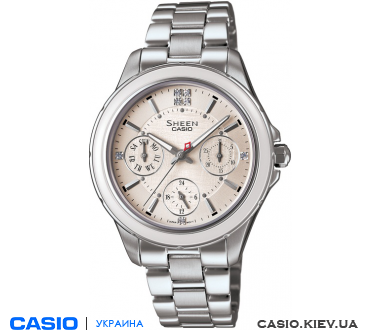 SHE-3508D-7AUER, Casio Sheen
