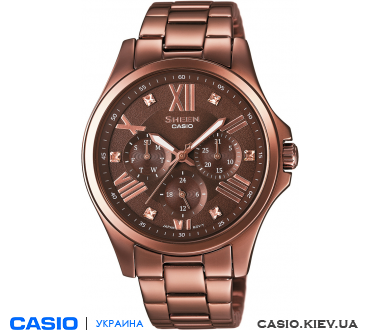 SHE-3806BR-5AUER, Casio Sheen