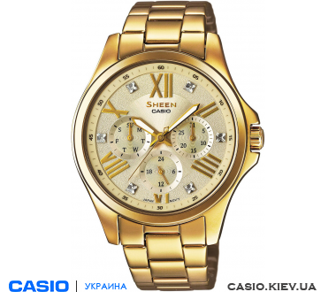 SHE-3806GD-9AUER, Casio Sheen