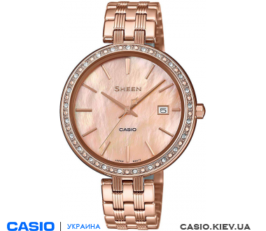 SHE-4052PG-4AUEF, Casio Sheen
