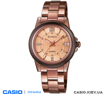 SHE-4512BR-9AUER, Casio Sheen