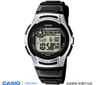 W-213-1AVES, Casio Standard Digital