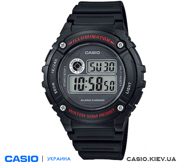 W-216H-1AVEF, Casio Standard Digital