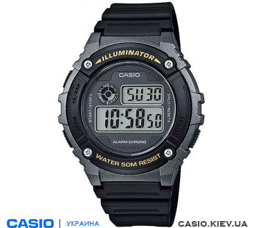 W-216H-1BVEF, Casio Standard Digital