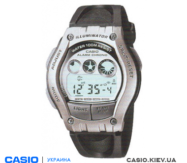 W-754H-7A, Casio Standard Digital