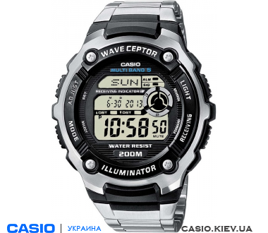 WV-200DE-1AVER, Casio Standard Digital