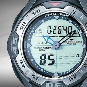 Casio SeaPathfinder